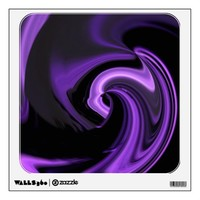 """Purple Abstract """"northern lights"""" Wall Decal from Zazzle.com"""