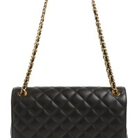 Moschino 'Large Letters' Quilted Leather Shoulder Bag | Nordstrom