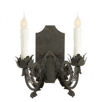 Ferronnerie Two Arm Sconce