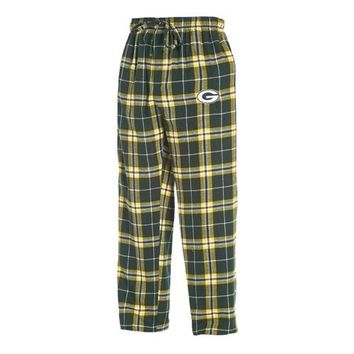 Green Bay Packers Huddle Men's Flannel Pants