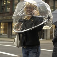 Nubrella Hands Free Umbrella