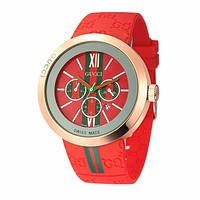 GUCCI Woman Men Fashion Print Watch Business Watches Wrist Watch