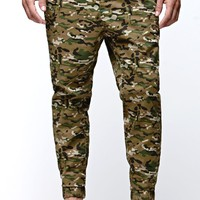 Bullhead Denim Co Camo Jogger Pants - Mens Pants - Camo