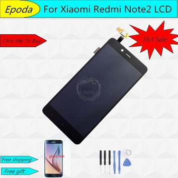 For Xiaomi Redmi Note 2 LCD Display + Touch Screen + Tools 100% New Digitizer Assembly Replacement Repair Accessories - In Stock