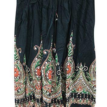 Womens Mini Skirt Sequin Embroidered Black Gypsy Sexy Medieval Skirts: Amazon.ca: Clothing & Accessories