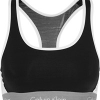 Calvin Klein Underwear - Flex Motion mesh-paneled stretch sports bra