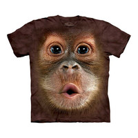 Big Face Baby Orangutan T-Shirt at Firebox.com