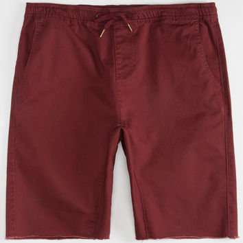 Crash Mens Jogger Shorts Blackberry  In Sizes
