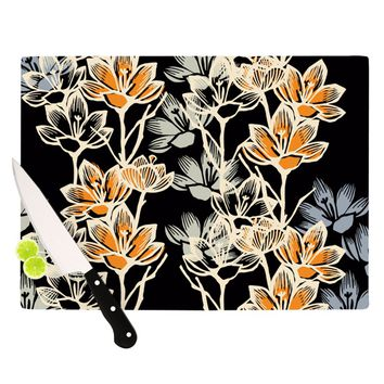 "Gill Eggleston ""Crocus"" Cutting Board"