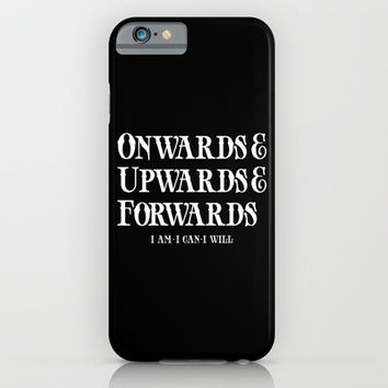 Onwards&Upwards&Forwards. iPhone & iPod Case by Moop
