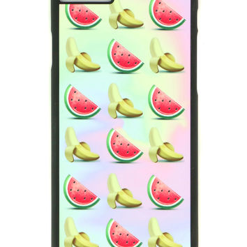 WATERMELON N BANANA IPHONE CASE