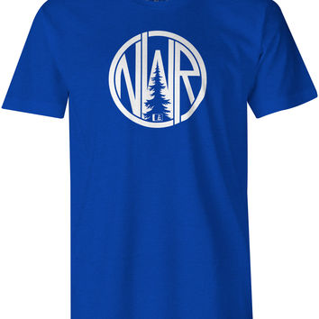 Monogram T-Shirt Royal Heather