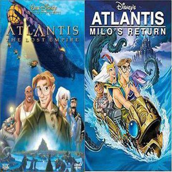Atlantis 1 & 2 DVD Set of Both Movies