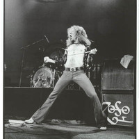 Led Zeppelin Robert Plant London 1975 Poster 24x33