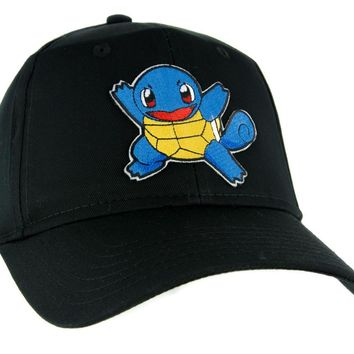 Squirtle Pokemon Go Trainer Hat Baseball Cap Alternative Clothing Gotta Catch Em All Day-First™