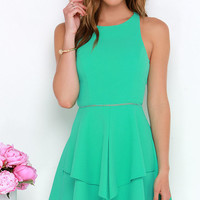 Picture Perfection Mint Green Dress