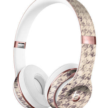 Faded Sharp Black and White Pattern Full-Body Skin Kit for the Beats by Dre Solo 3 Wireless Headphones