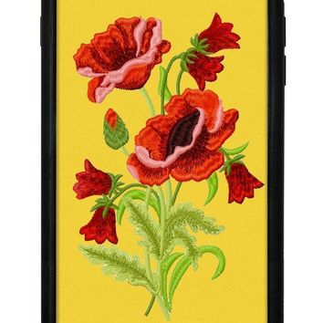 Yellow Floral iPhone 6/7/8 Plus Case