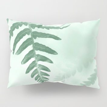 fern Pillow Sham by ARTbyJWP