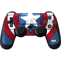 Captain America Emblem Skin for PlayStation 4 / PS4 DualShock4 Controller