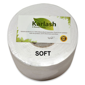 Karlash Premium Muslin Waxing Roll Soft 3.5 x 40 yrd