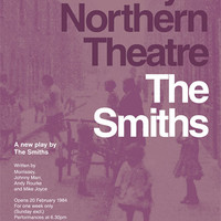 The Smiths 'The Smiths' Theatre Poster Literary Print The Plays of Morrissey and Marr