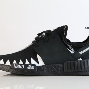 BC KUYOU Adidas X Neighborhood NMD R1 PK NBHD Black White DA8835 (NO Codes)