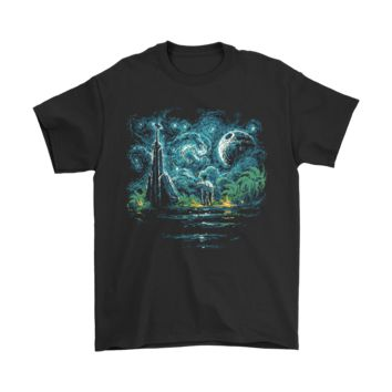 DCKG6Q Death Starry Night Star Wars Shirts