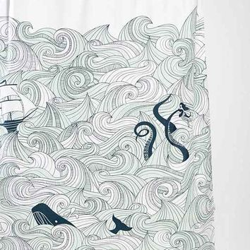 Elisa Cachero Odyssey Shower Curtain