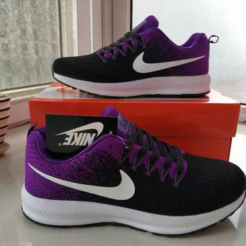 """Nike"" Women Sport Casual Multicolor Flyknit Running Shoes Fashion Sneakers"