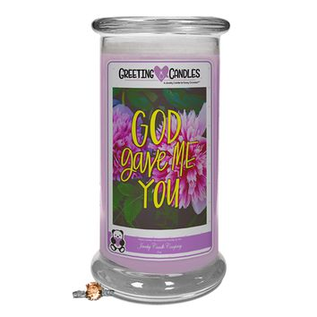 God Gave Me You | Jewelry Greeting Candle