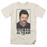 PARKS AND RECREATION WOMAN OF THE YEAR T-SHIRT