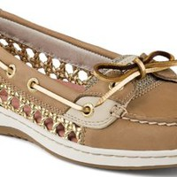 Sperry Top-Sider Angelfish Cane Woven Boat Shoe LinenOatCane, Size 5.5M  Women's Shoes