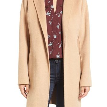 MICHAEL Michael Kors Double Face Wool Blend Coat (Regular & Petite) | Nordstrom