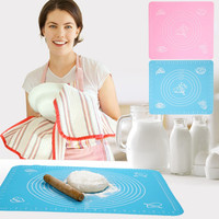 Superior qualityFashion Silicone Cake Dough Pastry Fondant Rolling Cutting Mat Baking Pad Baker ToolStylish