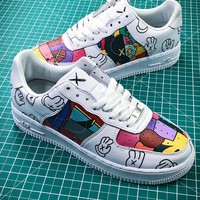 Kwas X Nike Air Force 1 Af1 Graffiti Sport Running Shoes Sale