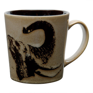 Elephant Profile Coffee Mug
