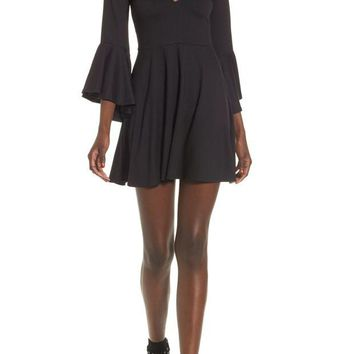 VONE7S Socialite | Bell Sleeve Knit Dress | Nordstrom Rack