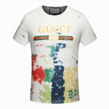ONETOW Gucci men and women T-Shirt