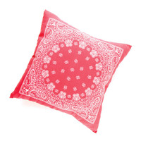 Bandana Print Pillow