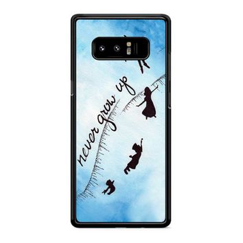 Peter Pan Never Grow Up 2 Samsung Galaxy Note 8 Case