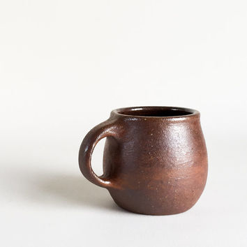 SMALL MUG 8 oz, ceramic, pottery, handmade, coffee, tea, hot, cocoa, chocolate, milk, water, chai, latte, juice, beer