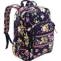 Vera Bradley Campus Backpack in Ribbons