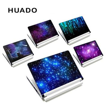 Starry Sky Diy Personality Decal Laptop Sticker 13 15 15.6 Inch Laptop Skin for Lenovo/Acer/Asus/Macbook Air