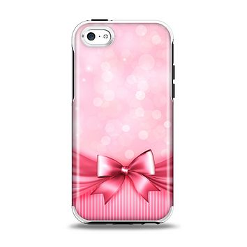 The Magical Pink Bow Apple iPhone 5c Otterbox Symmetry Case Skin Set