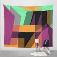Composition I/III Wall Tapestry by Susana Paz | Society6