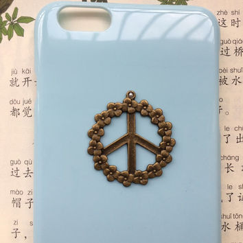 peace sign case,anti war case,creative protective case for iPhone 6 iPhone 6 plus iPhone5/s, summer gift hard case,best friends gift