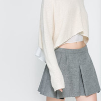 STUDIO BOX PLEAT SKIRT