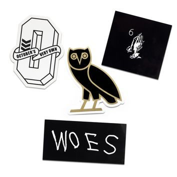 OVO STICKER SET | October's Very Own