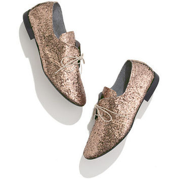 Anniel® Glitter Oxfords - shoes & boots - Women's NEW ARRIVALS - Madewell